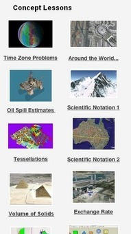 Real World Math - ideas for using Google Earth in math class | Math Models 2013-2014 | Scoop.it