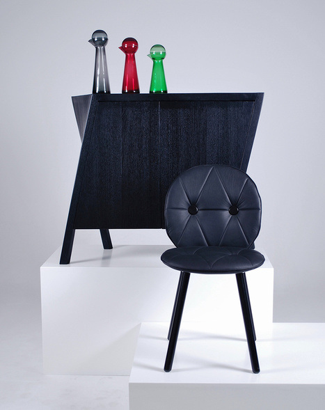 Movement and Balance in Furniture Design: The Walking Cabinet | Interior Design | Scoop.it