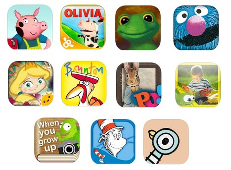Great Interactive iPad Storybook Apps for Your Kids ~ Educational Technology and Mobile Learning | EdTech | Scoop.it