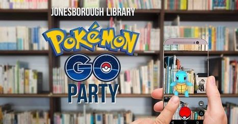 Pokémon GO Party in Jonesborough, TN Washington County Tennessee Public Library Jonesborough | Tennessee Libraries | Scoop.it