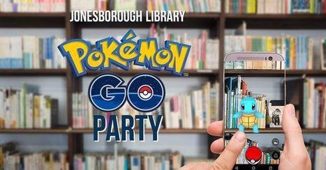 Pokémon GO Party in Jonesborough, TN Washington County Tennessee Public Library Jonesborough | Tennessee Libraries | Scoop.it