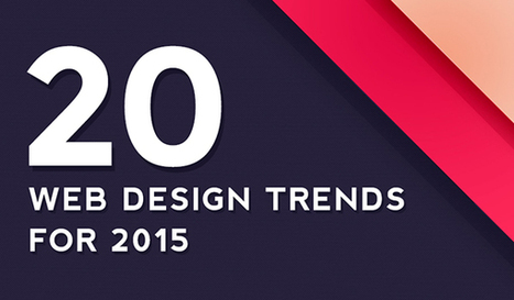 20 tendances de Web design en 2015 | actu graphisme | Scoop.it