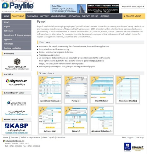 Paylite Helps Managing all HR functions. A Software Designed For Payroll and HR Management System | Human resource management system | Scoop.it