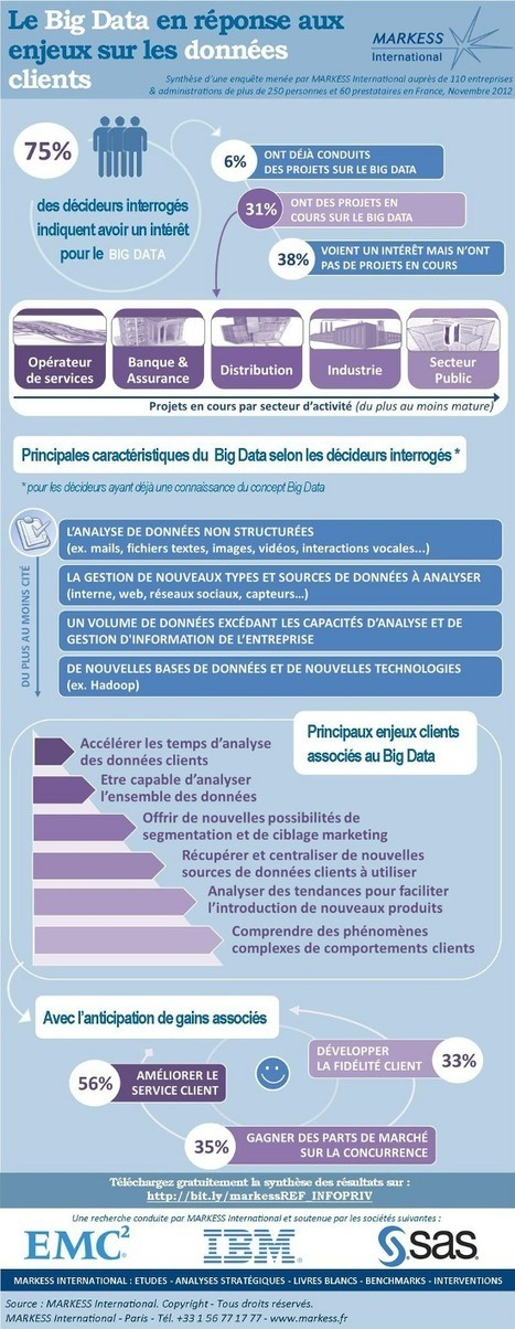 TOM, Travel On Move – [Infographie] L'exploitation des données clients à l'ère du Big Data | VeilleInfographie | Scoop.it