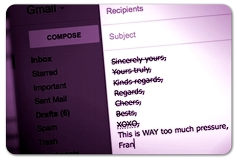 39 ways to close your emails | Technology and Education Resources | Scoop.it