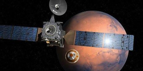 (Video) Dans 3 jours, un appareil européen devrait se poser sur Mars | Vous avez dit Innovation ? | Scoop.it