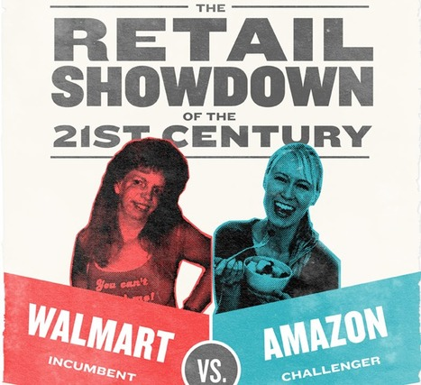 Walmart vs Amazon ★ Mashable | infographies | Scoop.it