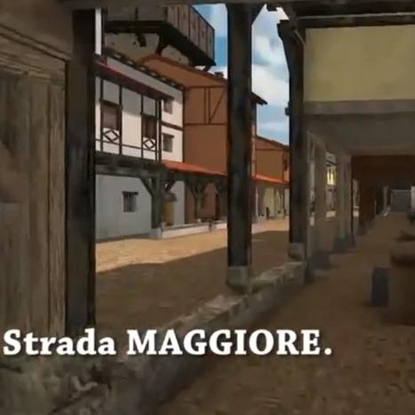 Reconstitution 3D de la ville de Bologne au Moyen Âge | Humanidades digitales | Scoop.it