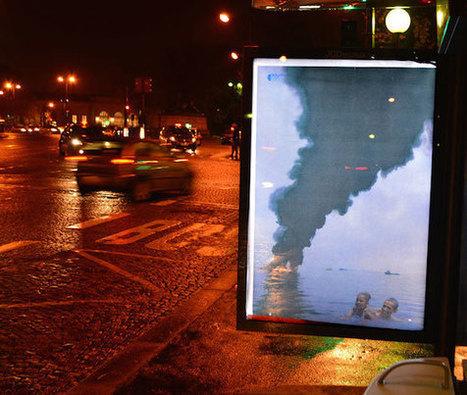COP 21 : 600 panneaux publicitaires parisiens détournés   le Bonbon   Com' environnementale   Scoop.it