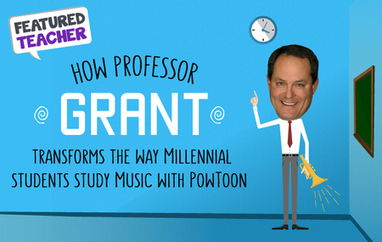 Featured Teacher: How Professor Grant Transforms the Way Millennial Students Study Music with Powtoon | School & Learning Today | Scoop.it