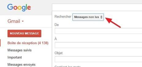 Gmail : Supprimer tous les messages non lus !   Easytutoriel.com   Au fil du Web   Scoop.it