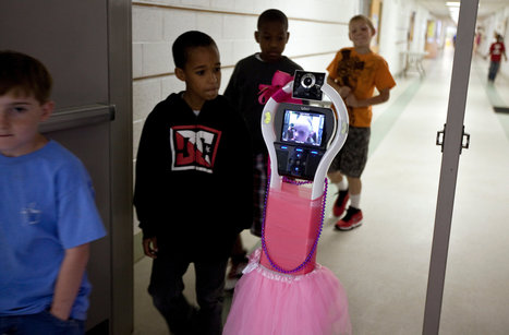 For Homebound Students, a Robot Proxy in the Classroom | Robot&Co | Scoop.it
