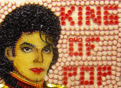 Don't Play With Your Food – Turn it Into Celebrity Art and Sell it for ... | Food Art | Scoop.it