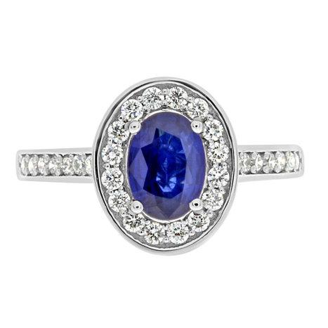 Lily Sapphire Engagement Ring - Loyes Diamonds dublin diamonds pave | Engagement Rings Dublin. | Scoop.it