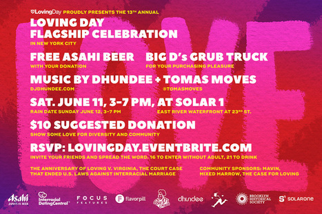 Loving Day Celebration NYC 2016 | Mixed American Life | Scoop.it