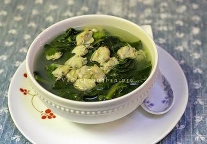 Cách nấu canh ngao mồng tơi thật ngọt thật ngon - Vào Bếp Cùng Bạn | Cho thuê xe cưới tại Hà Nội giá rẻ | Scoop.it