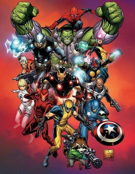 Marvel NOW! – Promotional art by Joe Quesada | GeekedMedia | Scoop.it