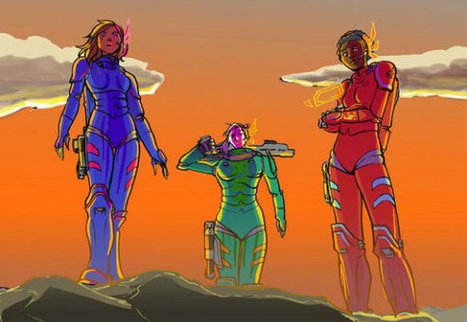 Chantaal Elliott: The Adventures of the Superheroines | The People Behind the Paper.lis | All Things Paper.li | Scoop.it