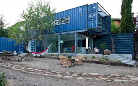 You Can Turn A $2000 Shipping Container Into An Epic Off-Grid Home | Wandering Salsero | Scoop.it