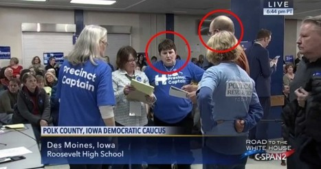 HILLARY CLINTON CAMPAIGN ACCUSED OF VOTER FRAUD IN POLK COUNTY, IOWA CAUCUS | anonymous activist | Scoop.it