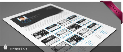 5 CV/Resume InDesign Templates | Design World | Scoop.it