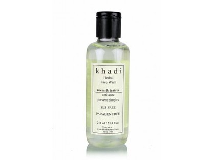 Buy Khadi Neem-Tea Tree Face Wash(SLS & Paraben Free)Online | Khadi Products | Scoop.it