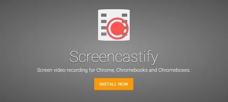 Screencastify, la extensión para grabar la pantalla de tu PC | IncluTICs | Scoop.it