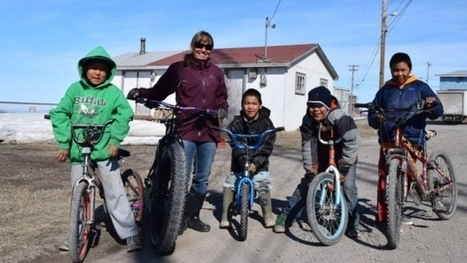Calgary bicycles donated for children in remote Nunavut hamlet | ecoiko shopping | Scoop.it