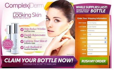 ComplexiDerm Review - Where to Buy ComplexiDerm Anti Aging Serum? | Skin Anti-Anging | Scoop.it