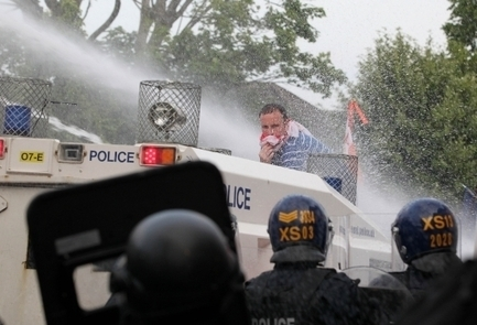 New Statesman | In London, the only choice the poor and discontented get is this: water cannon or rubber bullets | SocialAction2014 | Scoop.it