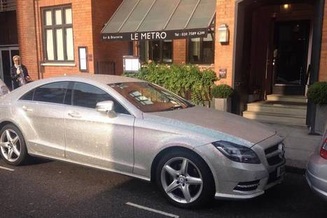 Ultimate bling-bling car covered in diamonds pictured in Knightsbridge | Diamonds, Gold & Jewellery | Scoop.it