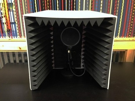 How to Make Your Own Sound Booth for Better Voice Overs - eLearning Brothers | Un noeud dans le mouchoir des médias sociaux | Scoop.it