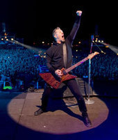 METALLICA.com   James Hetfield   Metallica Band   Scoop.it