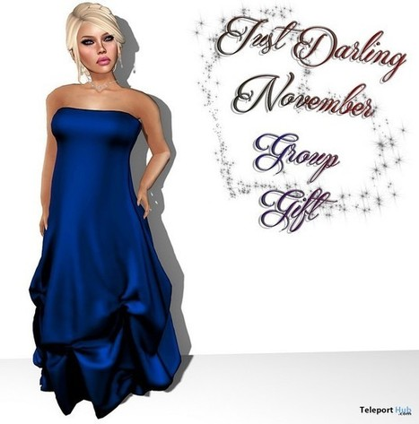 McKenna Dress November 2015 Group Gift by Just Darling | Teleport Hub - Second Life Freebies | Second Life Freebies | Scoop.it