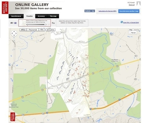 3200 mapas históricos de batallas y ciudades se superponen sobre Google Earth | The Creators Project | Giza Zientziak eta Geografia | Scoop.it
