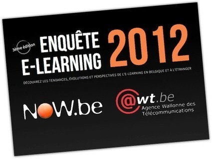 Téléchargez l'enquête e-Learning 2012 ! | eLearning related topics | Scoop.it