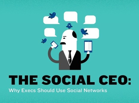 Reasons Why Your CEO Should Be on Social Media | Marketing Technology Blog | SocialMoMojo Web | Scoop.it