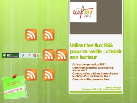 Utiliser les flux RSS pour sa veille : choisir son lecteur | Urfist de Paris | les docs | Scoop.it