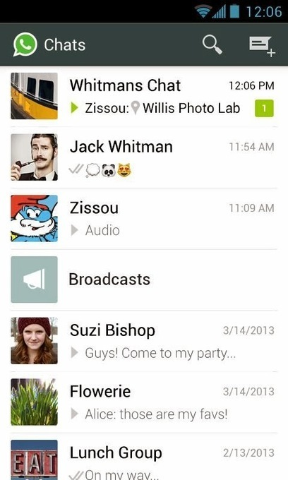 Android Messenger chat: Whatsapp - Best Android Email App | BestAndroidEmai | Scoop.it
