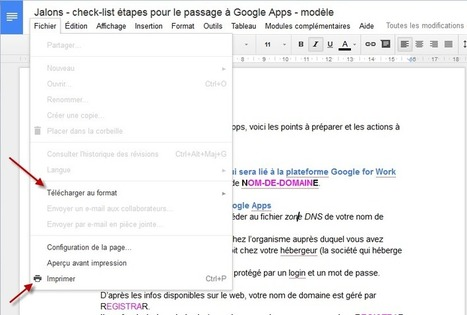 Comment publier un commentaire dans un document Google? - JalonsJalons | Google - le monde de Google | Scoop.it
