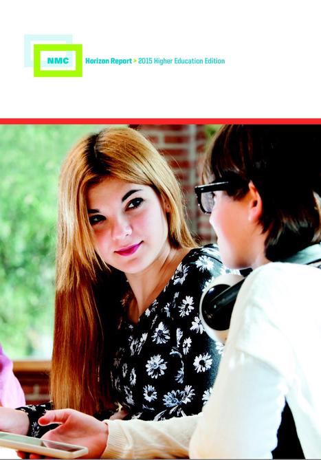 Informe Horizon 2015 educación superior: tendencias, retos y tecnologías importantes | Octeto | Multimedia Educativa | Scoop.it