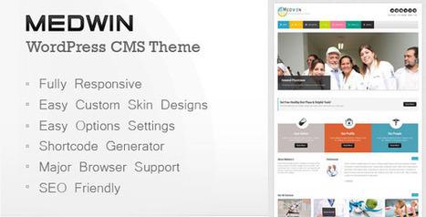 Medwin - Responsive Medical WordPress Theme   Medical wordpress themes   Scoop.it
