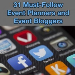 31 Must-Follow Event Planners and Event Bloggers on Twitter - Event Management & Event Planning Blog from Planning Pod | Event Management | Scoop.it
