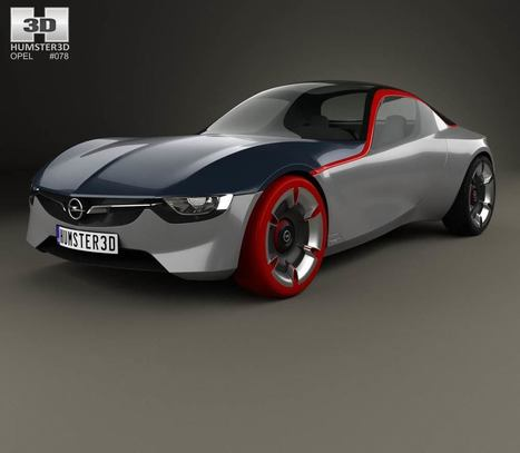 Opel GT 2016   3D models   Scoop.it