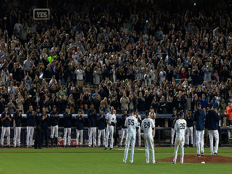 Mo exits to heartwarming ovation | Mariano Rivera | Scoop.it