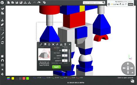 3DTIN: creador de diseños 3D ~ Juegos gratis y Software Educativo | plastica tridimension | Scoop.it