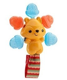 Buy Fisher Price Clickity-Clack Rattle Acorn Squirrel, Multi Color | Discounts India | Scoop.it