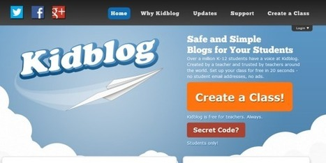 14 New Kidblog Features You're Guaranteed to Love! | Kidblog | Educational Technology in the Library | Scoop.it