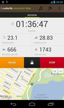 Runtastic Mountain Bike PRO v1.2 | ApkLife-Android Apps Games Themes | Android Applications And Games | Scoop.it