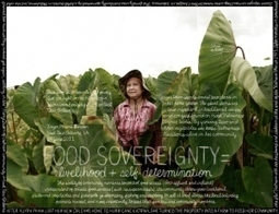 Lexicon of Sustainability: Food sovereignty | Urban rurality | Scoop.it